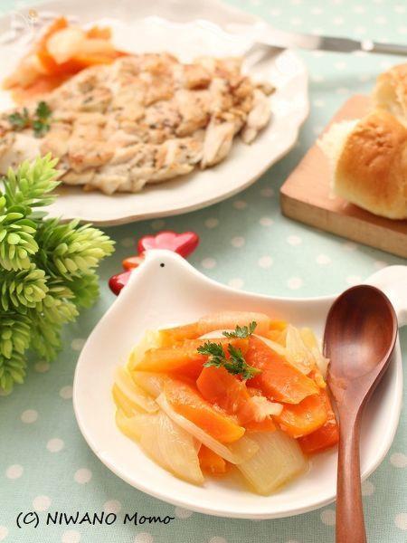根菜の塩麹バター蒸し