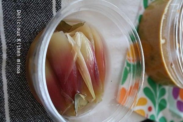 みょうがのピクルス