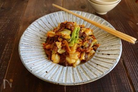 2. コチュジャン味噌炒め
