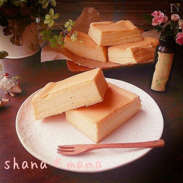 4 きび糖と豆乳のシフォン