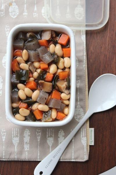 五目煮豆。