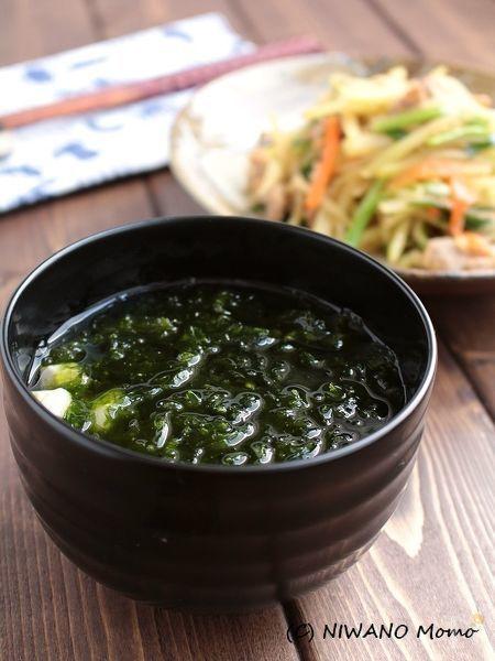 4.沖縄 アーサ(あおさ)汁