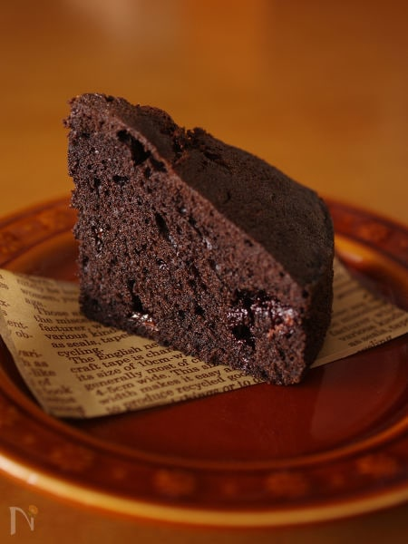 超簡単に本格的!チョコレートケーキ