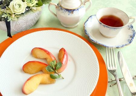 冷凍りんごでお手軽キャラメリゼ