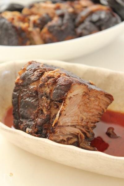 豚肉とプルーンのバルサミコ煮