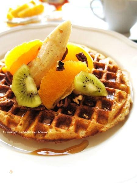 【番外編】朝食の定番アメリカンワッフル