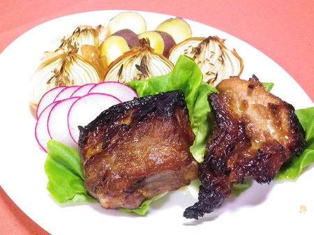 豚スペアリブ(バラ肉)のオーブン焼き