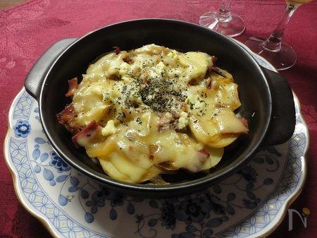 ほくほくポテトのオーブン焼き