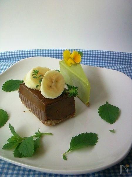 [恵スイーツ]アボカドでセレブも夢中Rawチョコケーキ♪