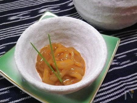 ◆上品塩辛◆ フレッシュなのに濃厚な醤油味
