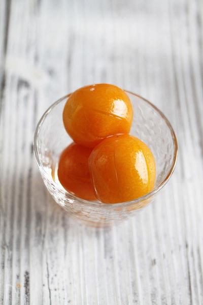 金柑の蜂蜜甘露煮 キルシュ風味