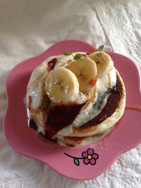 【米粉シリーズ】小麦アレルギーさんも食べられる♪パンケーキ