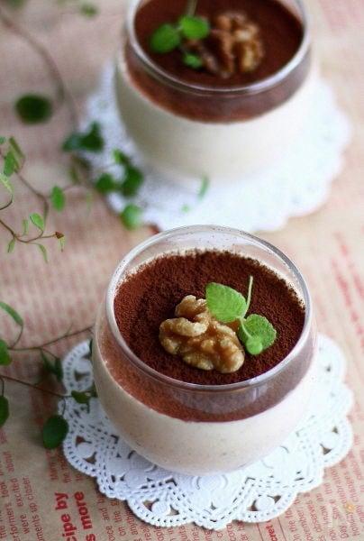 ホワイトチョコオレオムース♪コーヒー風味