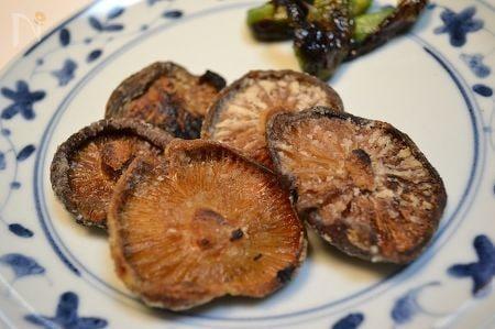 出汁がら椎茸を使ってジューシー葛粉焼き