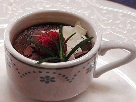 チョコレート風味のプティ・ポ