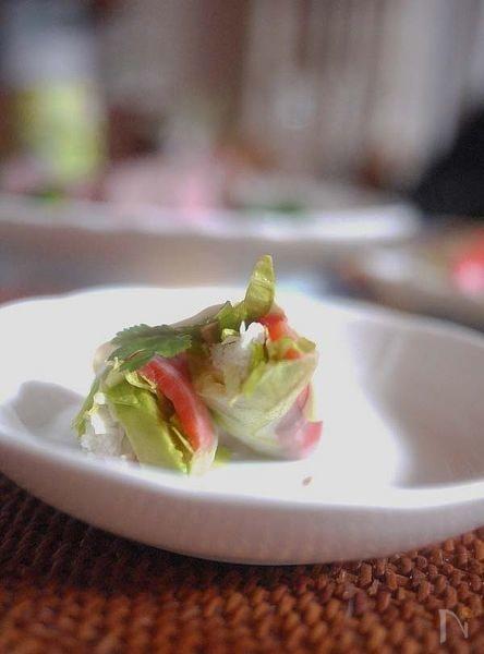 サラダ生春巻き