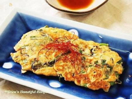 【ダイエットレシピ】お豆腐のふんわりチヂミ。