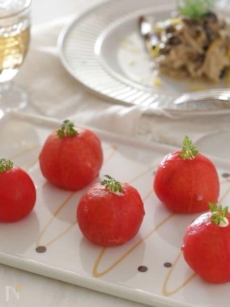 アイス スタッフドトマト