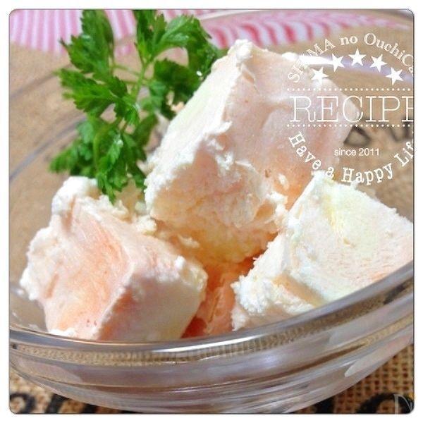 ヨーグルとクリームチーズを混ぜるだけ!簡単さっぱりアイスクリーム