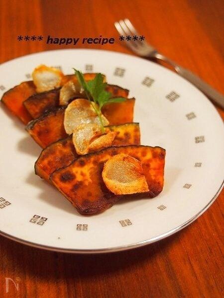 甘味濃厚☆塩かぼちゃのペペロンソテー