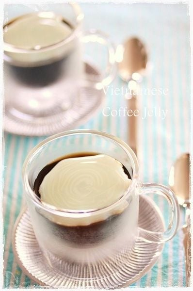 ベトナム風コーヒーゼリー