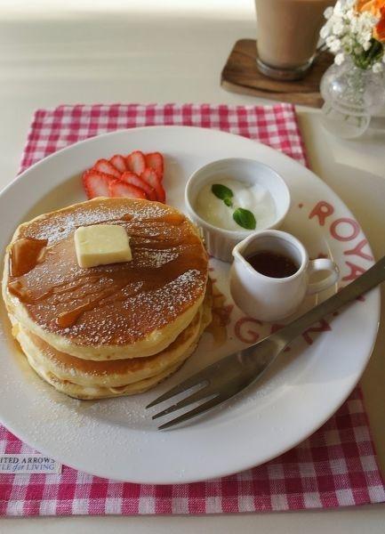 豆乳で作るヘルシーパンケーキ