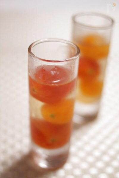 プチトマトのジュレ