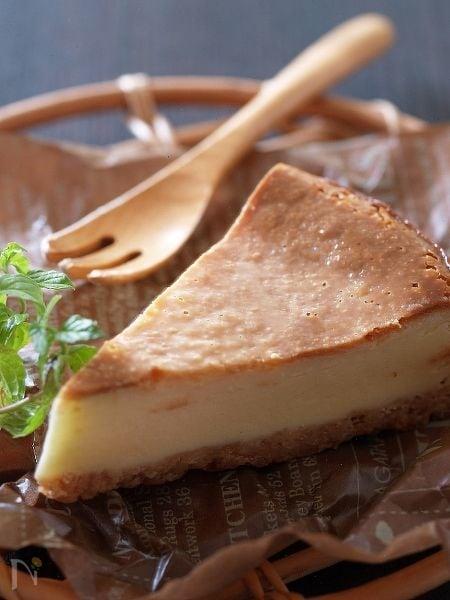 フードプロセッサーであっという間のチーズケーキ