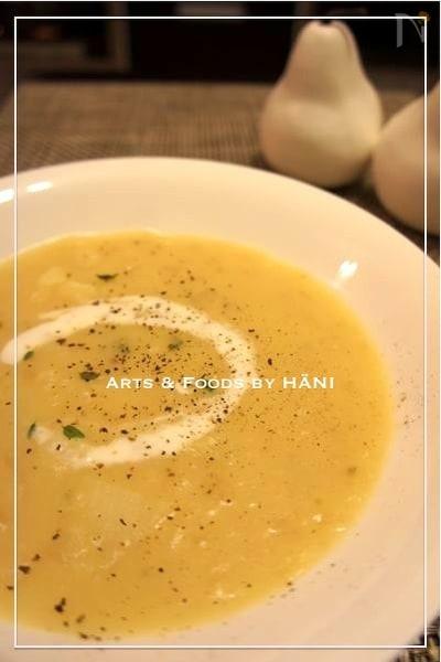 ほくほくじゃがいものポテトスープ 自家製ハーブの香