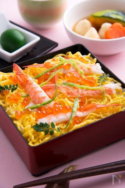 豪華!でも簡単なんです…チラシ寿司