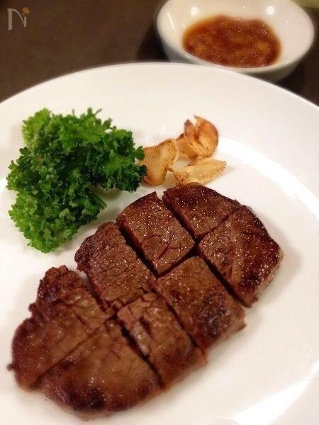6、牛肉のおろしポン酢がけ