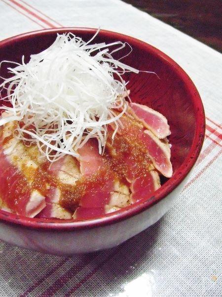 マグロの生姜焼き丼