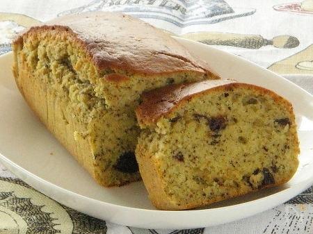 紅茶とプルーンとくるみのパウンドケーキ