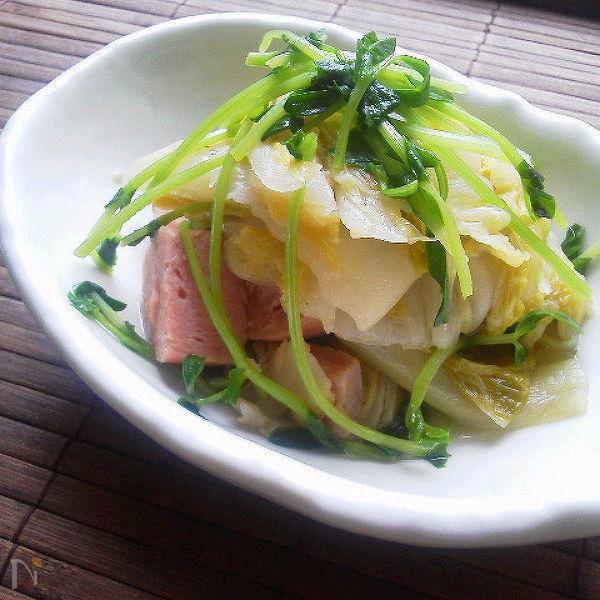 スパムと白菜のクタっと煮(常備菜)〜お弁当〜