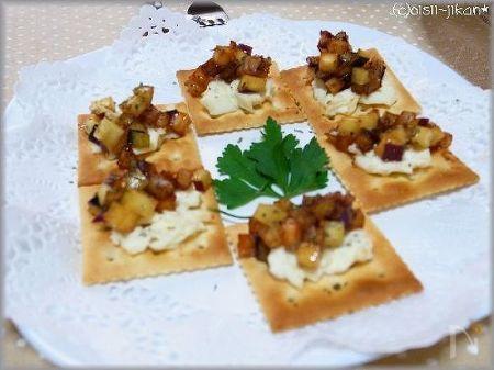 秋野菜のキャラメリゼ