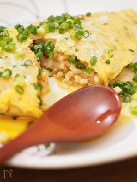 卵かけごはん風オムライス