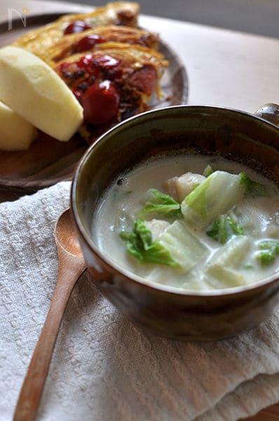白菜のクリーム煮」