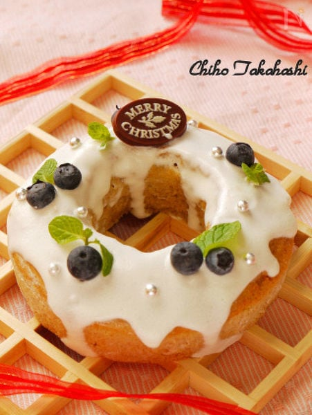 玄米粉のシフォンケーキ