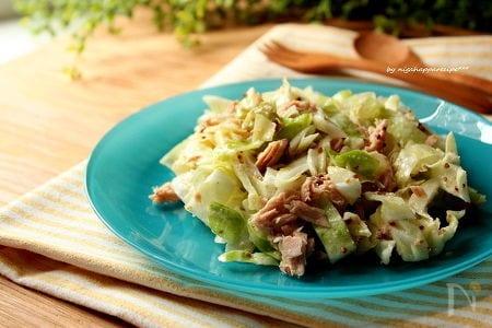 1. ざっくりキャベツのマスタードサラダ