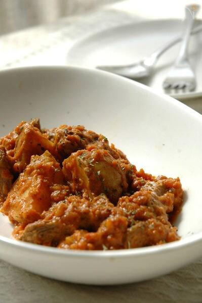 ジャガイモと牛肉のスペッツァティーノ。