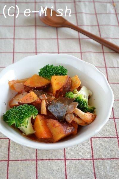 さつま芋のシナモンラタトゥイユ
