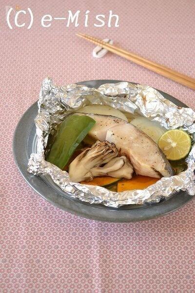 鱈のホイル包み焼き