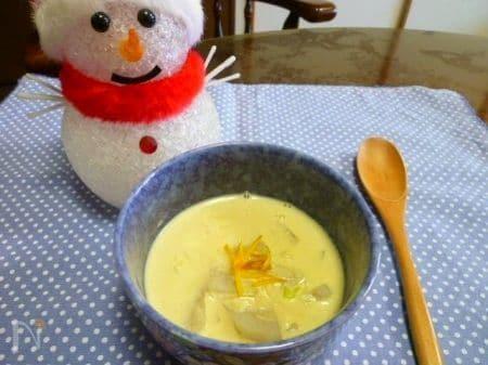 里芋のあったかミルクスープ