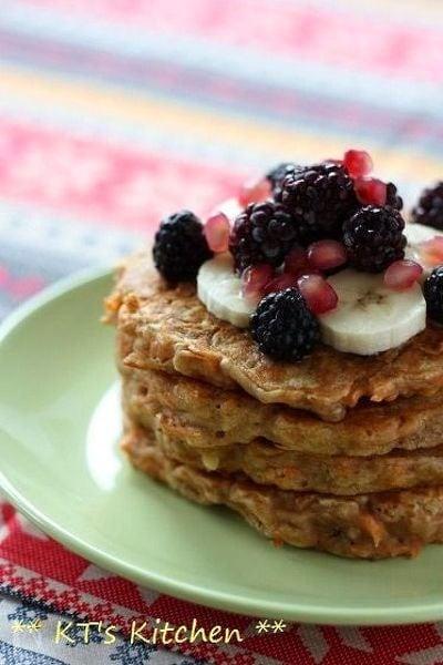 キャロット&胡桃のシナモンパンケーキ