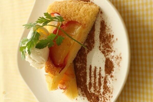 フライパンで簡単!アップルケーキ