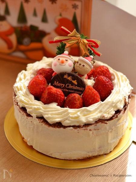 チョコパリショートケーキ(デコレーション)