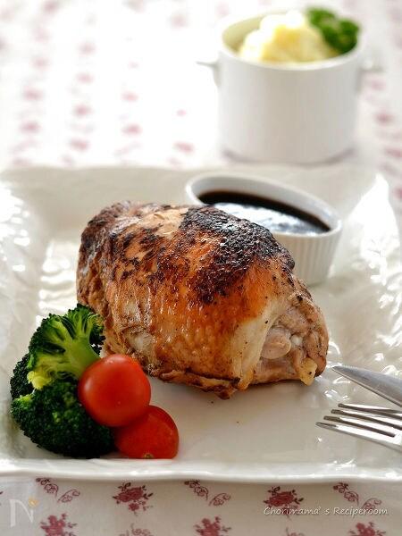鶏むね肉のローストチキン