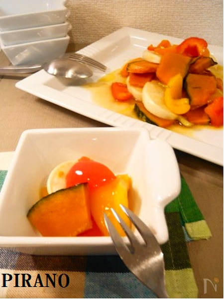 グリル野菜のマリネ風サラダ