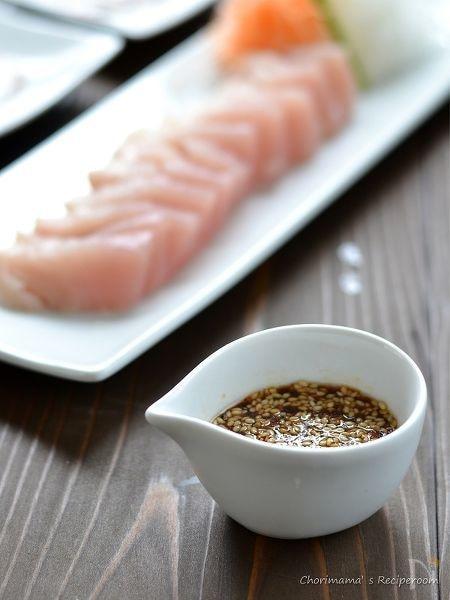 韓国刺身醤油