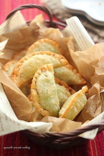 メキシカン☆アボカドチーズの包み揚げ